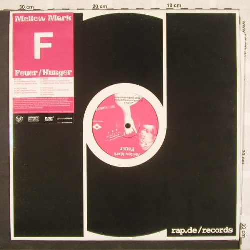 "Mellow Mark: Feuer/Hunger, rap.de(), D, 02 - 2*12"" - B9539 - 6,00 Euro"