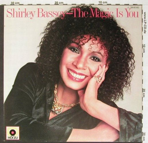 Bassey,Shirley: The Magic Is You, UA/Hör Zu(064-62 440), D, 79 - LP - B9804 - 5,00 Euro