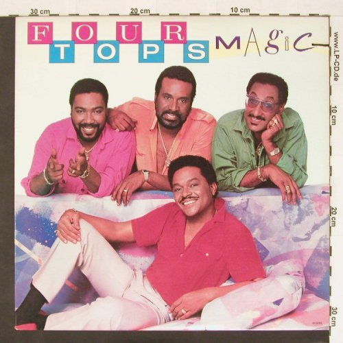 Four Tops: Magic, co, Motown(), US, 85 - LP - B9987 - 5,00 Euro