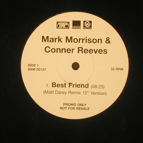 Morrison,Mark & C.Reeves: Best Friend*2,Promo, WEA(), ,  - 12inch - C1821 - 4,00 Euro