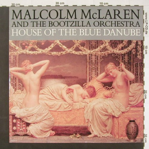 Mc Laren,Malcolm: House Of The Blue Danube*3,dub, Epic(WALTZ T4), UK, 89 - 12inch - C1845 - 3,00 Euro