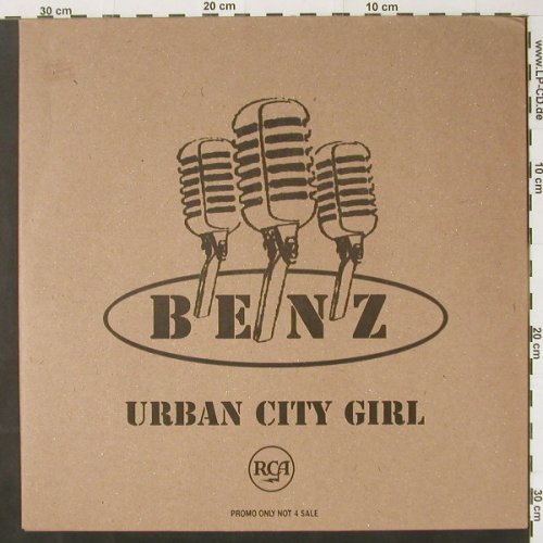 Benz: Urban City Girl*6, Promo, RCA(), ,  - 12inch - C2234 - 3,00 Euro