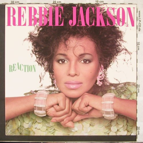Jackson,Rebbie: Reaction, CBS(26961), NL, 86 - LP - C2246 - 4,00 Euro
