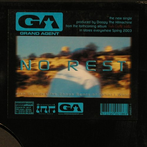 Grand Agent: No Rest*2+2, LC, GrooveAtta(), D, 03 - 12inch - C2781 - 3,00 Euro