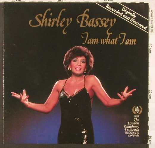 Bassey,Shirley: I Am What I Am, Ariola(206 579-620), D, 1984 - LP - C3459 - 4,00 Euro