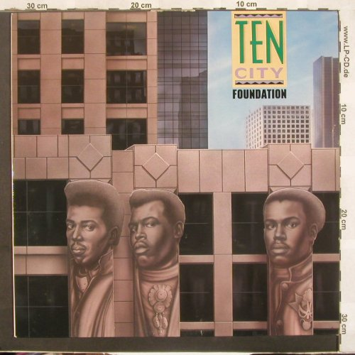 Ten City: Foundation, WEA(781 939-1), D, 1989 - LP - C3995 - 5,50 Euro