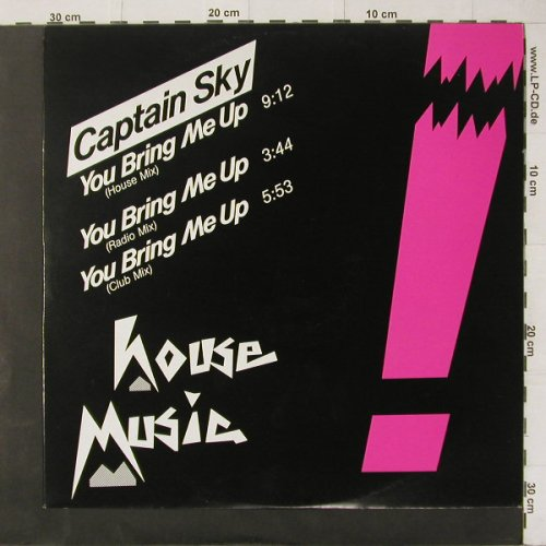Captain Sky: You Bring Me Up*3, Stripped Horse(6.20732 AE), D, 1987 - 12inch - C4394 - 3,00 Euro