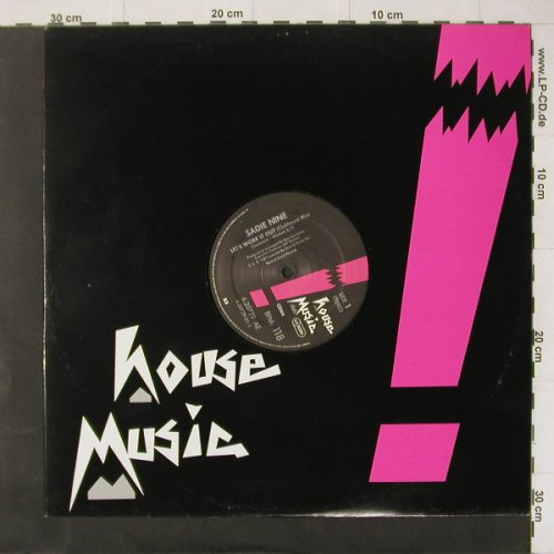 Nine,Sadie: Let's Work It Out*3, House Music(6.20729 AE), D, 1987 - 12inch - C4395 - 3,00 Euro
