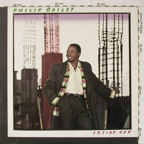Bailey,Philip: Inside Out, CBS(463076 1), NL, 1986 - LP - C4418 - 3,00 Euro