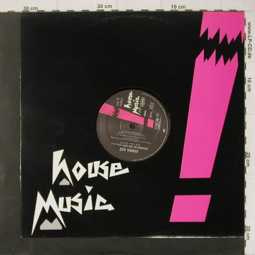 Kee,James: Sounds Of The City*3,Flc, House Music(6.20738 AE), D, 1987 - 12inch - C4473 - 3,00 Euro
