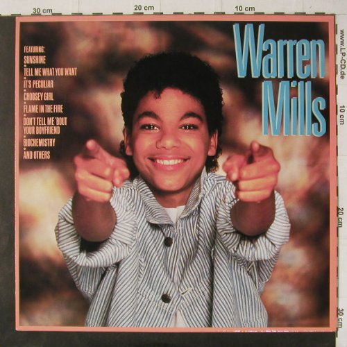 Mills,Warren: Same, Jive(6.26265 AO), D, 1985 - LP - C4710 - 5,00 Euro