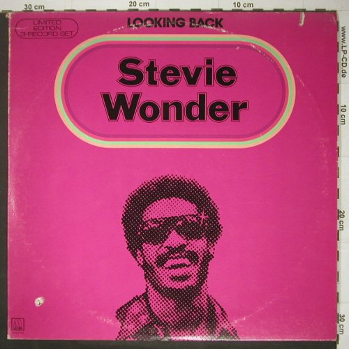 Wonder,Stevie: Looking Back,Foc,Co, m-/vg+, Motown(M-804LP3), US,  - 3LP - C4964 - 7,50 Euro