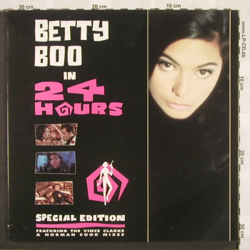 Betty Boo: 24 Hours-The Remixes,Foc, Rhythm King(LEFT R45T), UK, 90 - 12inch - C563 - 4,00 Euro