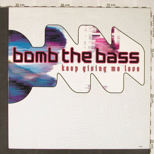 Bomb The Bass: Keep Giving Me Love*3+1, RhythmKing(657988 6), NL, 1992 - 12inch - C5907 - 4,00 Euro