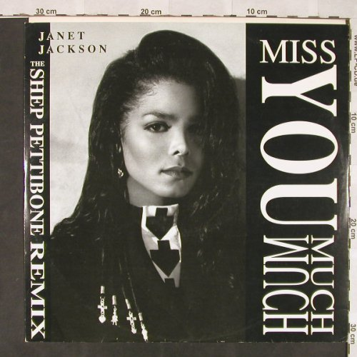 Jackson,Janet: Miss You Much*6, AM(390 465-1), D, 1989 - 12inch - C5919 - 3,00 Euro