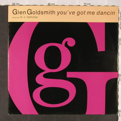 Goldsmith,Glen feat.M.C.Hammer: You've Got Me Dancin*2+2, RCA(PT 43314), UK, 1990 - 12inch - C5922 - 4,00 Euro