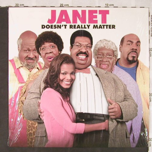 Jackson,Janet: Doesn't Really Matter, Def Jam(314 562 828-1), US, 2000 - LP - C5928 - 6,00 Euro