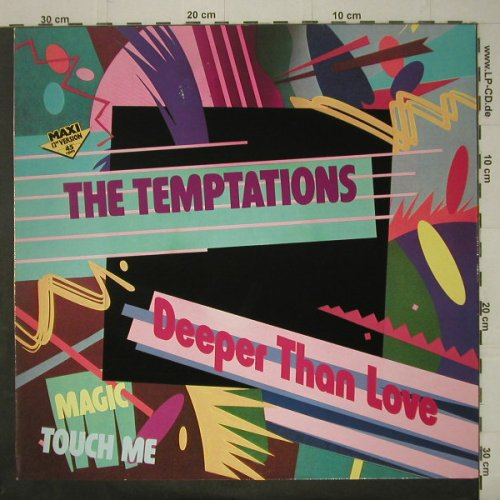 Temptations: Deeper Than Love+2, Motown(ZT 40608), , 85 - 12inch - C6823 - 2,50 Euro