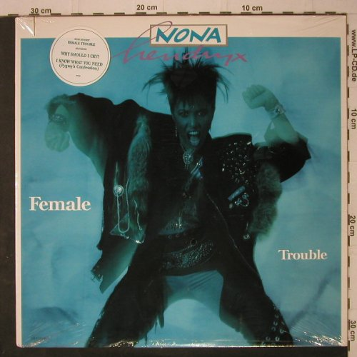 Hendrix,Nona: Female Trouble, co, FS-New, EMI(ST-17248), US, 1987 - LP - C7488 - 6,50 Euro