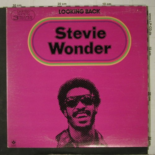 Wonder,Stevie: Looking Back,Foc, Motown(M804N3), CDN, 1977 - 3LP - C7755 - 12,50 Euro