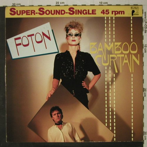 Foton: Bamboo Curtain / The Game we play, Pinnacle Rec(128.711), D,m-/vg+, 1983 - 12inch - C7819 - 2,50 Euro