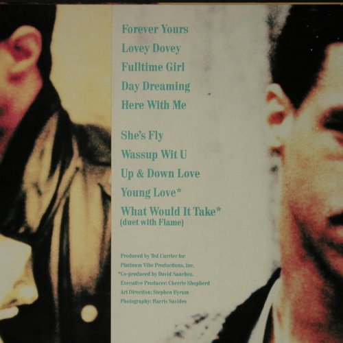 Terry,Tony: Forever Yours, Epic(BFE 40890), US, 1987 - LP - C7833 - 5,00 Euro