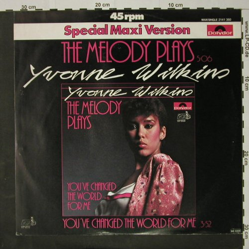 Wilkins,Yvonne: The Melody Plays, Polydor(2141 360), D, 1981 - 12inch - C8114 - 1,50 Euro