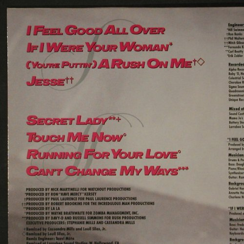 Mills,Stephanie: If I were your Woman, MCA(254803-1), D, 1987 - LP - C8347 - 5,00 Euro