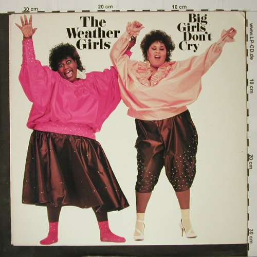 Weather Girls: Big Girls Don't Cry, Columb.(BFC 39980), US, 1985 - LP - C8357 - 5,00 Euro