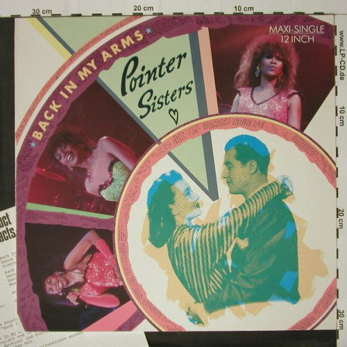 Pointer Sisters: Back In My Arms (rmx) +2, RCA(PT 49866), D, 1986 - 12inch - C8437 - 4,00 Euro