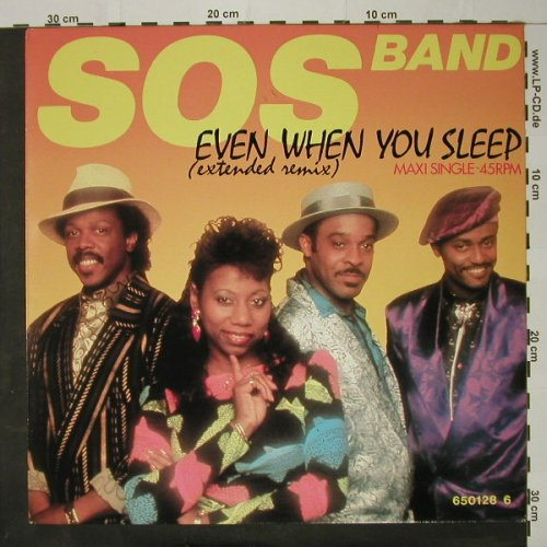 S.O.S. Band: Even When You Sleep(ext.rmx), Tabu(TBU 650128 6), NL, 1986 - 12inch - C8674 - 2,50 Euro