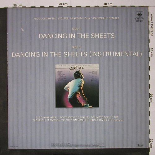 Shalamar: Dancing In The Sheets*2, CBS(A 12.4171), NL, 1984 - 12inch - C8675 - 2,50 Euro