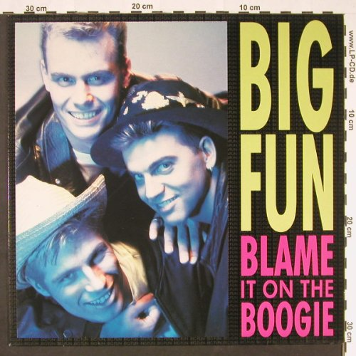 Big Fun: Blame It On The Boogie *3, JIVE(ZT43062), D, 1989 - 12inch - C8996 - 1,50 Euro