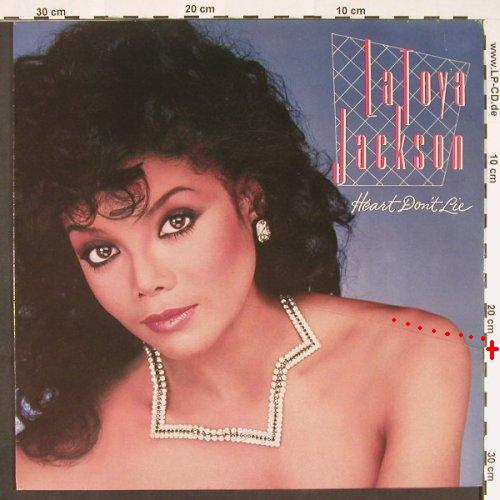 Jackson,La Toya: Heart Don't Lie, m-/vg+, Epic(25 992), UK, 1984 - LP - C9036 - 4,00 Euro