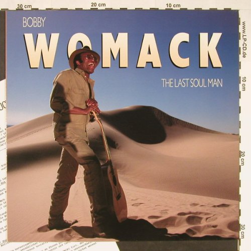 Womack,Bobby: The Last Soul Man, MCA(255 142-1), D, 1987 - LP - C9268 - 5,50 Euro
