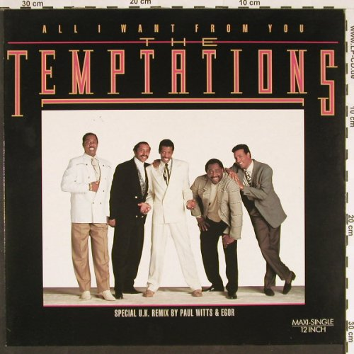 Temptations: All I Want From You *4, Motown(ZT43234), D, 1989 - 12inch - C9501 - 2,50 Euro