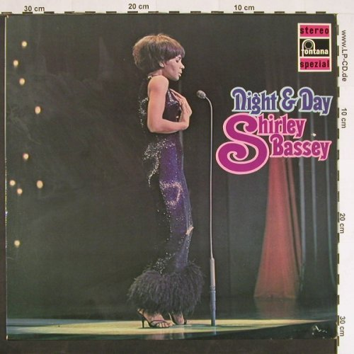 Bassey,Shirley: Night & Day, Fontana(6438 038), D,  - LP - C9543 - 5,00 Euro