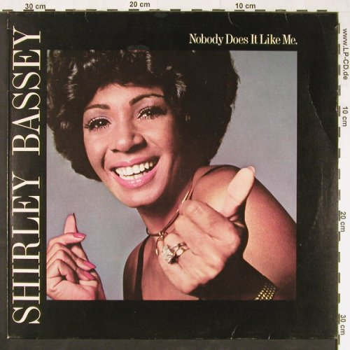 Bassey,Shirley: Nobody Does It Like Me, UA(29621), D, 1974 - LP - E1093 - 6,00 Euro