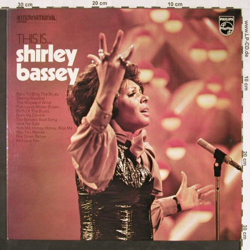 Bassey,Shirley: This Is...(57-59), Ri, Philips(6382028), UK, 1972 - LP - E1094 - 6,00 Euro
