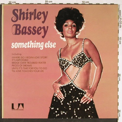 Bassey,Shirley: Something Else, Foc, UA(UAS 29149 I), D,  - LP - E1095 - 5,00 Euro