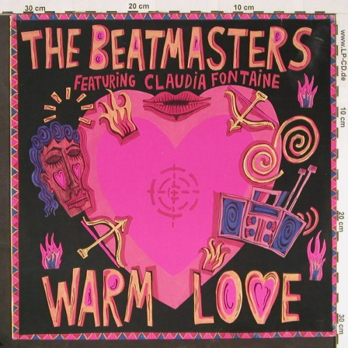 Beatmasters: Warm Love*2, RhythmKing(LEFT 37 T), D, 1989 - 12inch - E123 - 2,50 Euro