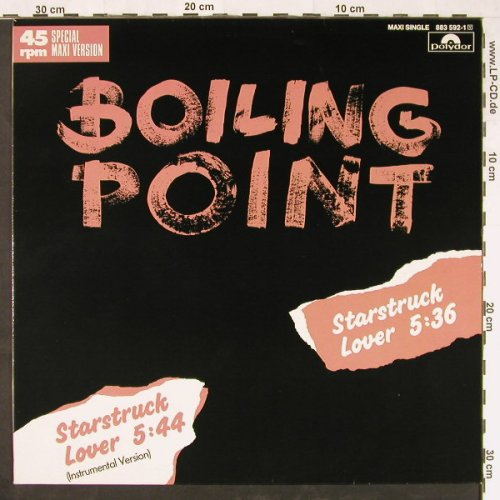 Boiling Point: Starstruck Lover *2, Polydor(883 592-1), D, 1985 - 12inch - E1374 - 2,50 Euro