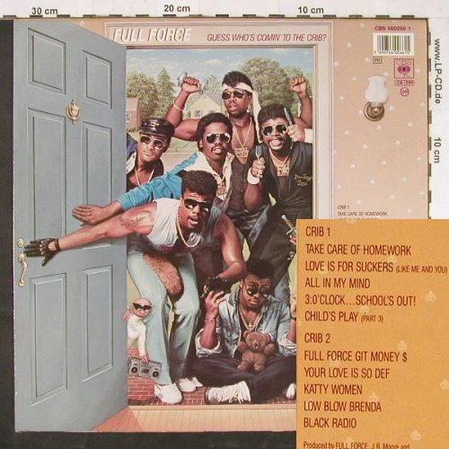 Full Force: Guess Who's Coming To The Crib ?, CBS(460266 1), NL, 1987 - LP - E1377 - 4,00 Euro