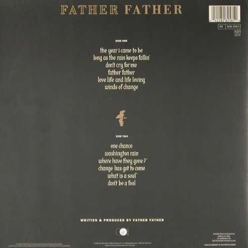 Father Father: We Are All So Very Happy, Foc, GO(828 258-1), D, 1991 - LP - E1455 - 6,00 Euro