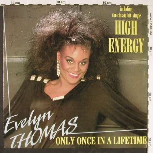 Thomas,Evelyn: High Energy/Only once i.a.life..*3, Ramshorn(RHR 3757), NL, 1988 - 12inch - E1526 - 3,00 Euro