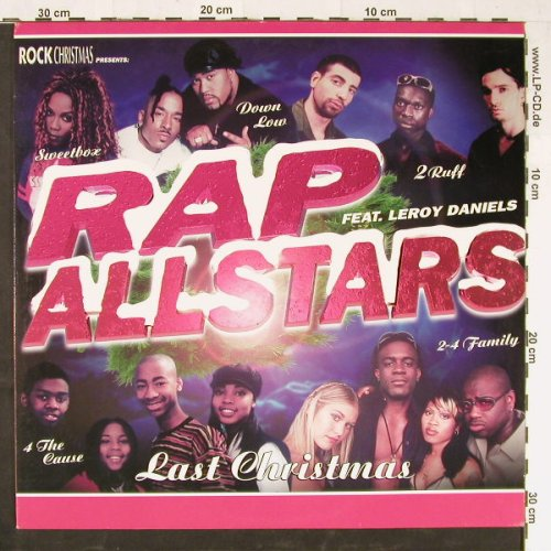 Rap Allstars: Last Christmas*2, What's Up(567 919-1), EU, 1998 - 12inch - E1703 - 4,00 Euro