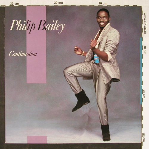 Bailey,Philip: Continuation, CBS(32 680), NL, 1983 - LP - E1726 - 5,00 Euro