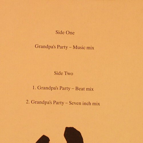 Monie Love: Grandpa's Party *3, Chrysalis(612 344), D, 1989 - 12inch - E1738 - 2,50 Euro