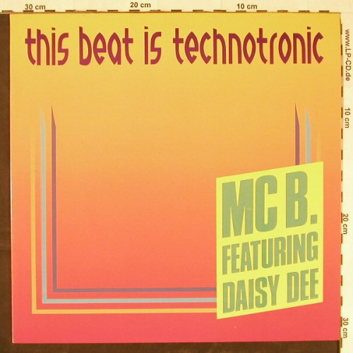 Mc B. feat. Daisy Dee: This Beat Is Technotronic*2+1, Dance Street(DST 112 001), D,  - 12inch - E1739 - 3,00 Euro