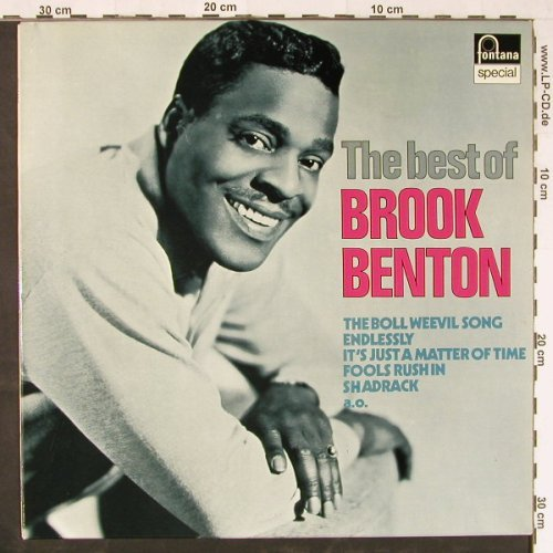 Benton,Brook: The Best Of, Fontana(6430 042), NL,  - LP - E1793 - 6,00 Euro